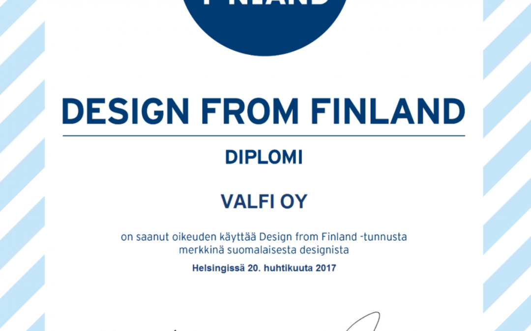 Valfille Design from Finland -merkki